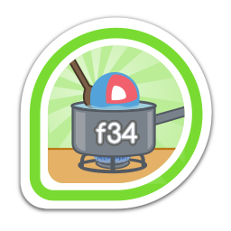 fedora-34-coreos-test-day icon